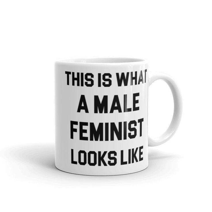 Male Feminist Coffee Mug