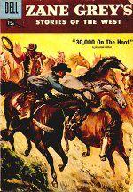 Great Dell comic cover-1957
