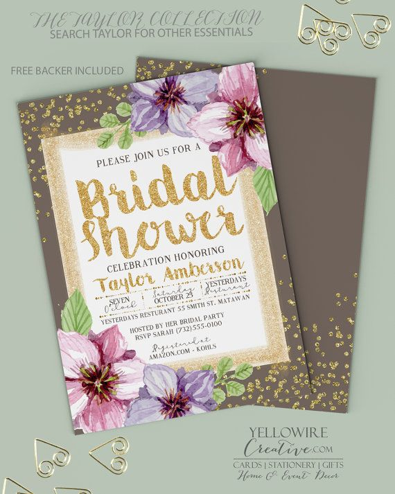 explore bridal shower pictures