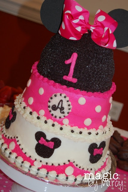 Minnie Mouse 2nd Birthday Cake Ideas 10819 Minnie Mouse 1S