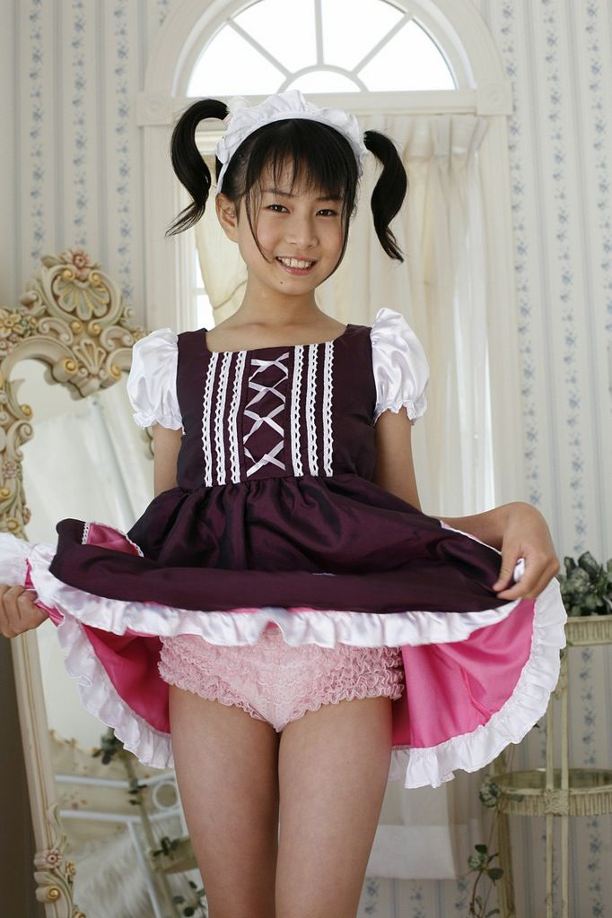Asian girl hello kitty panties dare