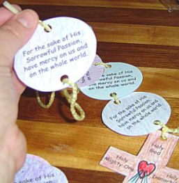 Divine Mercy Chaplets for kids!!!! :) Oh I love this!