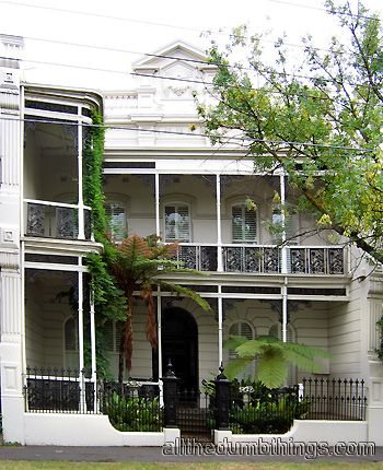 Victorian era terrace house