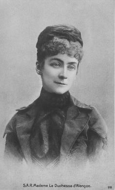 Herzogin Sophie d'Alençon, geborene Herzogin in Bayern. Jüngste Tochter von Herzog Max in Bayern und Prinzessin Ludovika von Bayern.