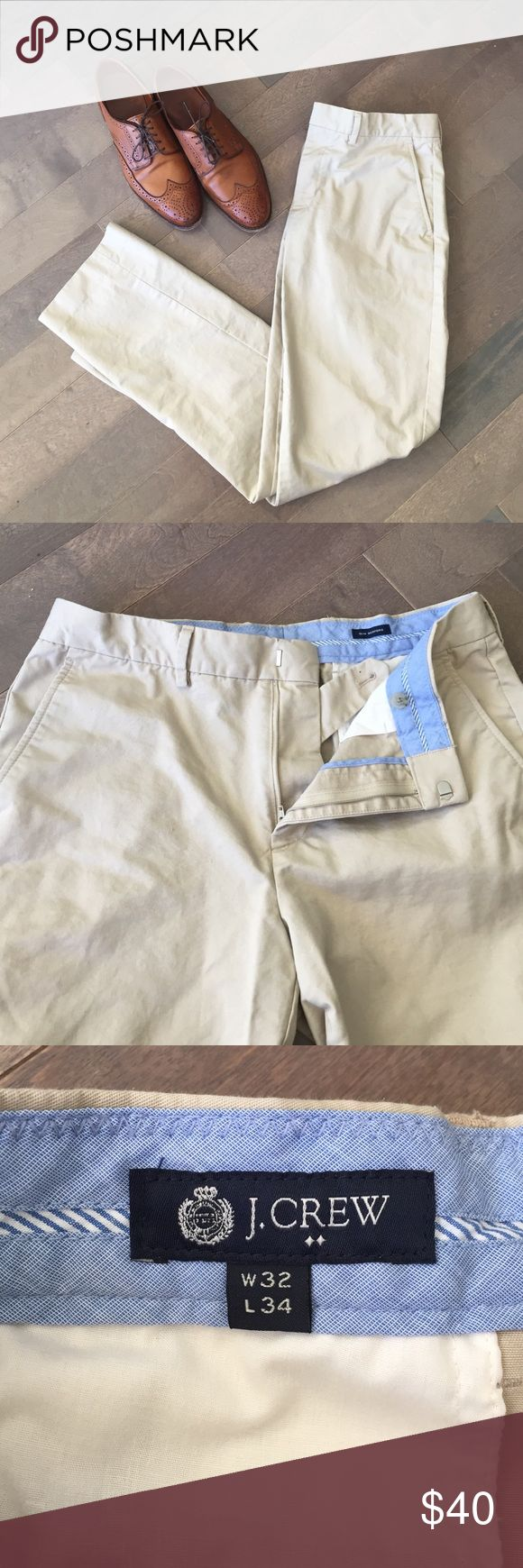NWOT J. Crew Khaki Pants! NWOT men's khaki pants from J. Crew!  Slim Bedford style. Size: 32w x 34L J. Crew Pants Chinos & Khakis