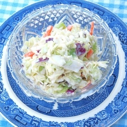 Easy Creamy Coleslaw | RecipeNewZ