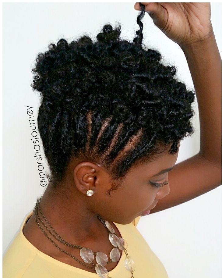 Liking This Style Natural Hair Styles Short Natural
