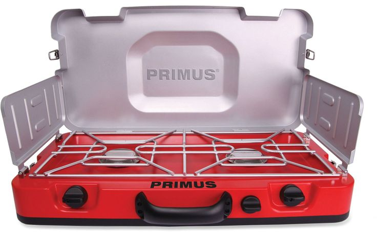 It's a camp classic with modern updates! The Primus FireHole™ 100 2-Burner stove makes it easy to whip up a gourmet meal in no time at all. #REIGifts