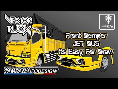 Vector Bemper Depan Truck Canter Tampan Art Design Fastart Youtube Truk Besar Stiker Mobil Mobil
