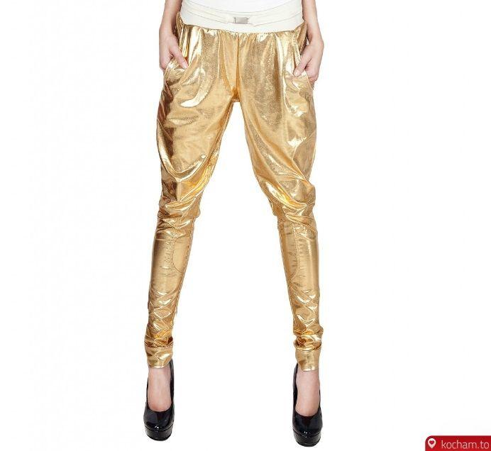 Kocham.to - Złote spodnie