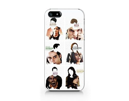 T-224- Teen wolf iphone 5 case, Teen wolf iphone 5s cover