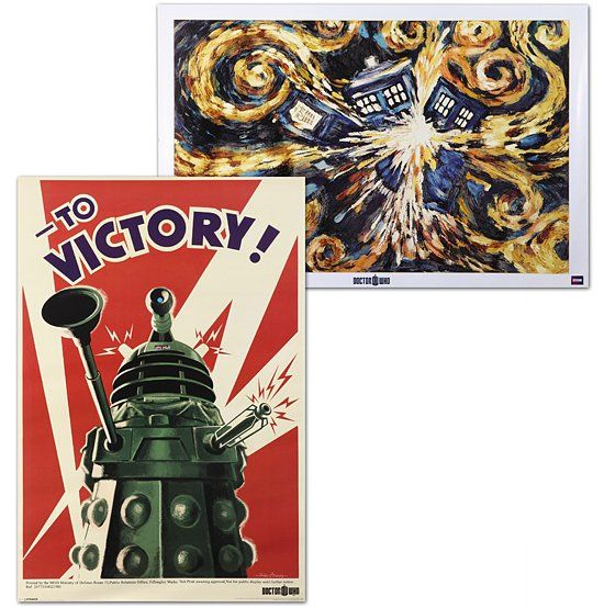 Doctor Who Series 5 Posters $11.99