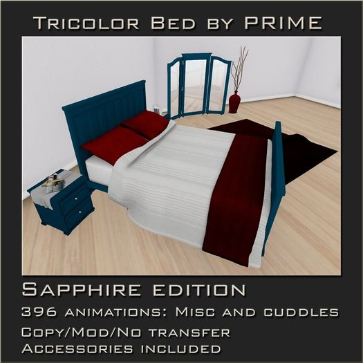 Tricolor Bedroom Sapphire by PRIME