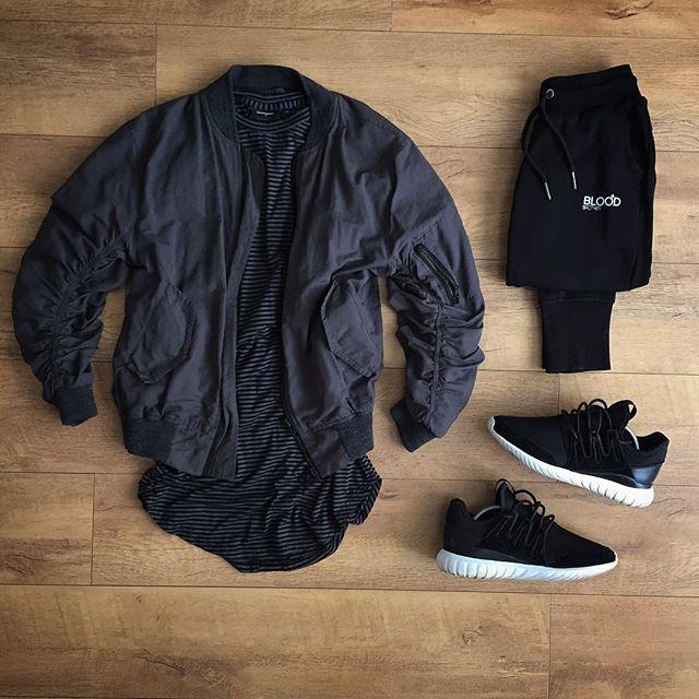 Adidas Tubular Radial Outfit