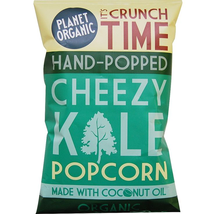 Organic corn, hand-popped with organic coconut oil in artisan kettles and flavoured using real ingredients, simple.