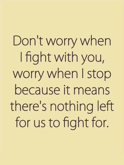 ... to fight for #quote Quotes Pinterest Marriage, Stop it and F