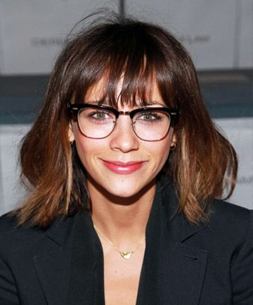 Once you see these fierce fringes, you'll want to call your hair stylist, stat