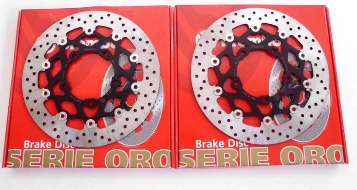 BREMBO 2 DISCHI FRENO ANTERIORI SERIE ORO HONDA CBR 600 RR 2003 2004 2005 2006
