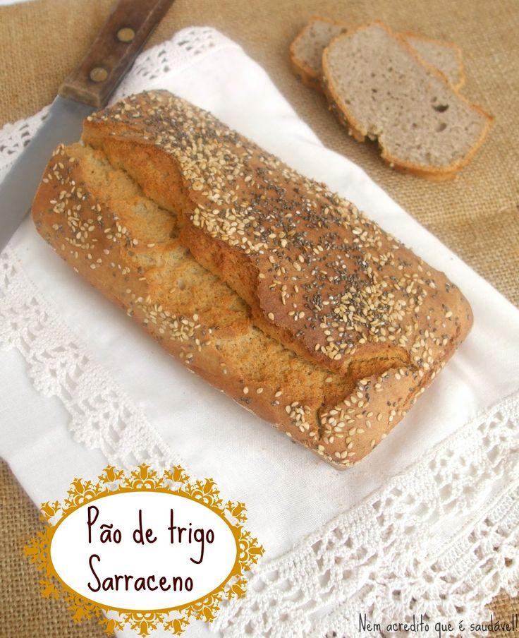 Nem acredito que é saudável!: Pão sem glúten de trigo sarraceno