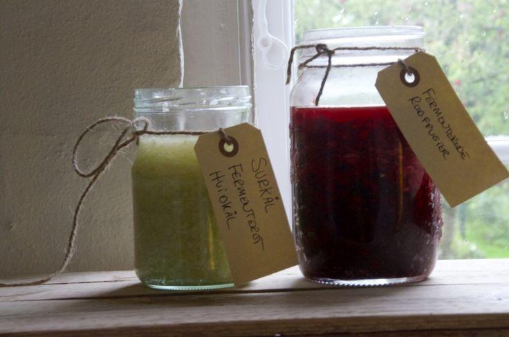 fermenterede grønsager surkål