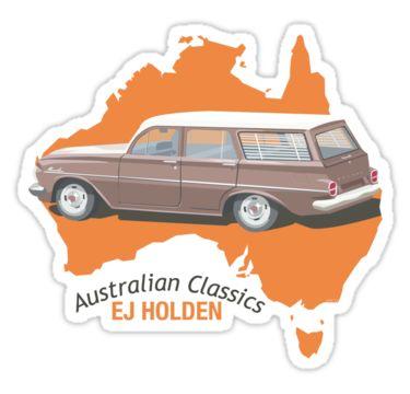Holden EJ (Special) Station Sedan - Australian Classics by contourcreative…