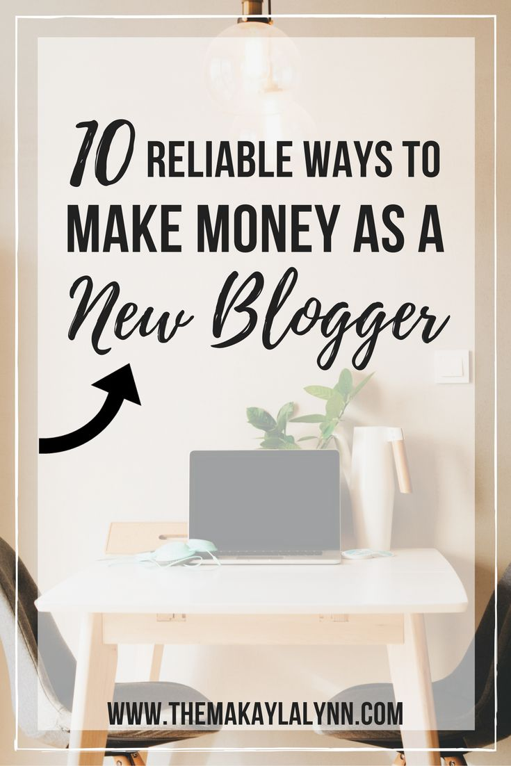 Ever wondered how you can ACTUALLY make money as a blogger? New or experienced, click the picture above to learn about 10 reliable ways to make money through your website! //   Visit: www.themakaylalynn.com for more blogging-related posts and tips.