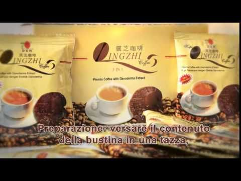DXN Lingzhi Coffee 3 in 1 Italian video presentation
