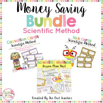 As your students start the year in science class, it's very important that they understand what they'll be doing and the expectations set up on them. That's why I've combined all of my products about the scientific method and process skills into this one bundle--all for