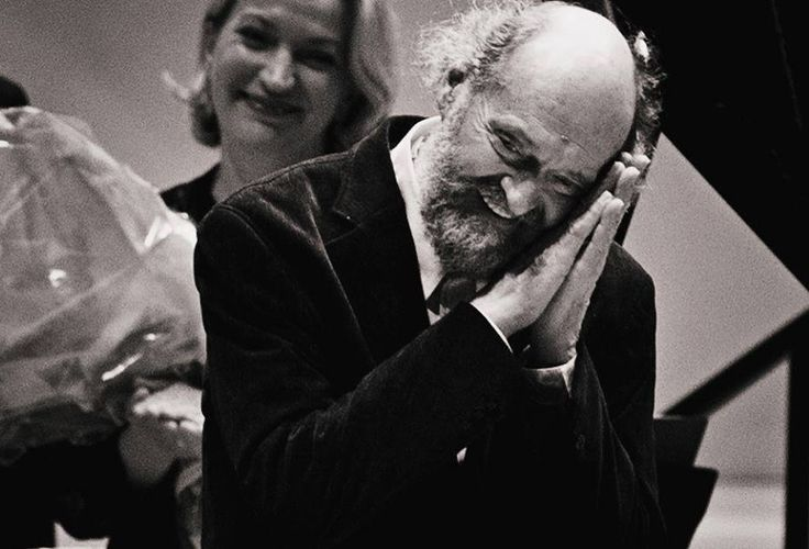 Maestro Arvo Pärt after a long, long applause at the Carnegie Hall concert in New York last night. Photo by Eleri Ever.