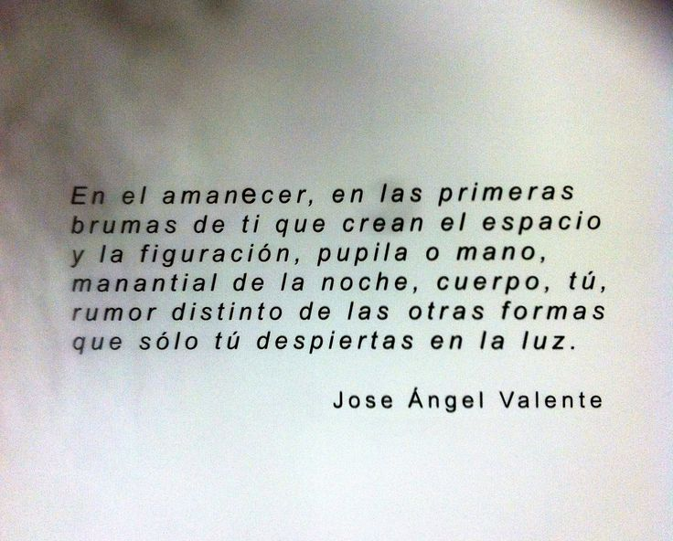 Verso de Jose Angel Valente nas paredes do Antigo Banco de España, hoxe convertido en centro de exposicions co nome do poeta do deserto.
