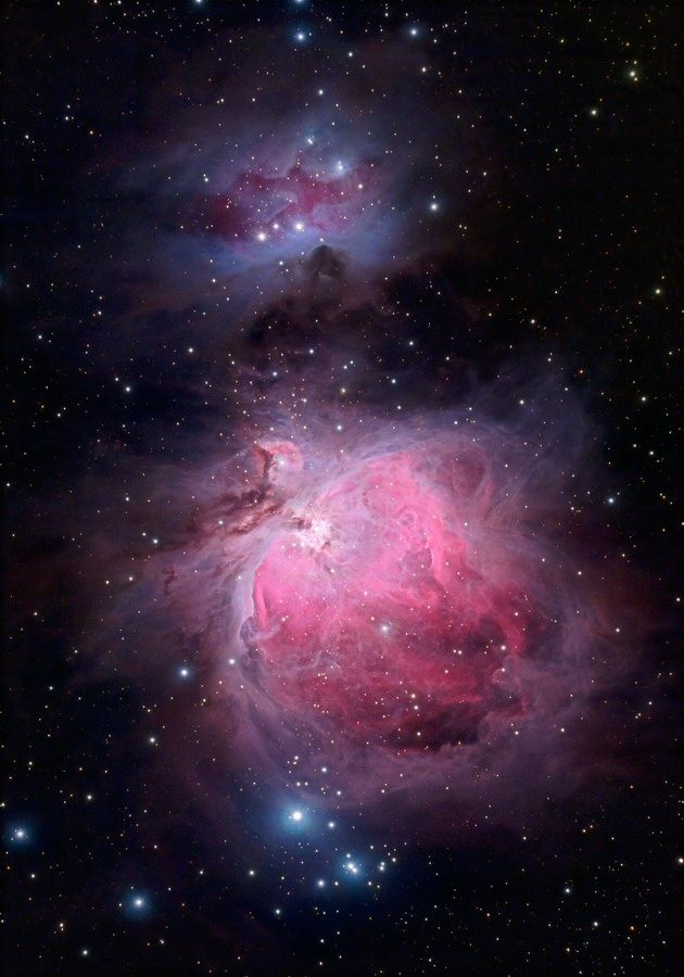 Orion Nebula Region The Great Orion Nebula stands out as one of the most wonderful telescopic objects in the sky. The central area is the so-called Huygenian Region, which is a bright zone sharply...