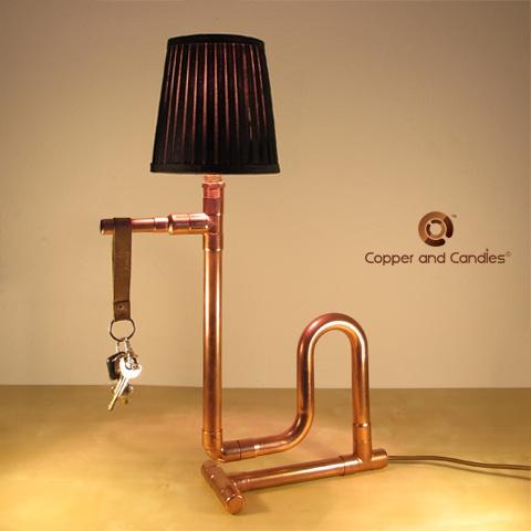 Copper+pipe+lamp   Copper Pipe Lamp
