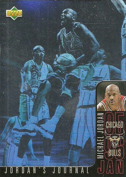 1996-97 UPPER DECK JORDAN'S JOURNAL J3 MICHAEL JORDAN BULLS