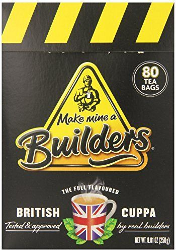 Builders Tea Caddy 80 Count Teabags ** Details can be found by clicking on the image.