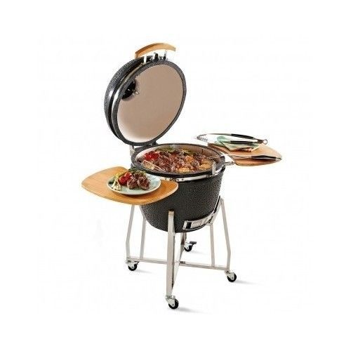 Barbecue Grill Outdoor Oven - Classic Kamado Ceramic BBQ - Home Patio Grill New