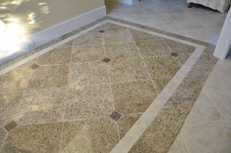 Amazing Foyer Tile Floor Designs Tile With A Border