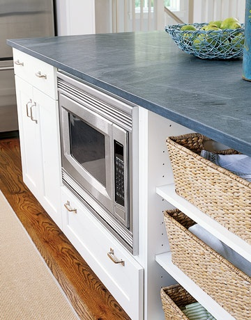 An Under Counter Microwave Is Much Safer Than Above The Stove Great For Children