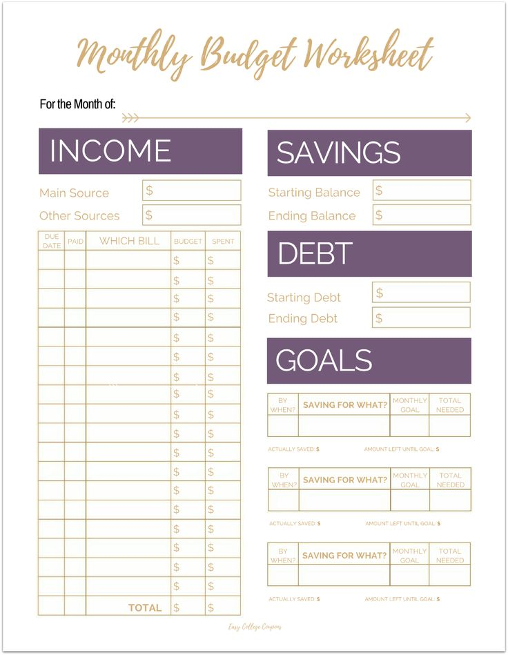 25+ unique Monthly budget sheet ideas on Pinterest Monthly - monthly budget