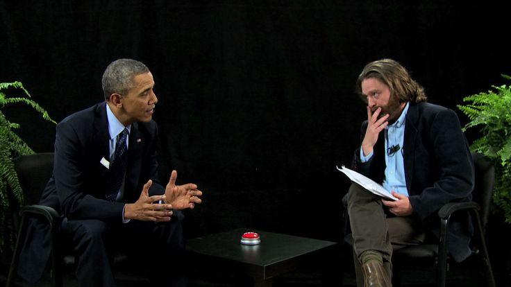 Between Two Ferns with Zach Galifianakis: President Barack Obama