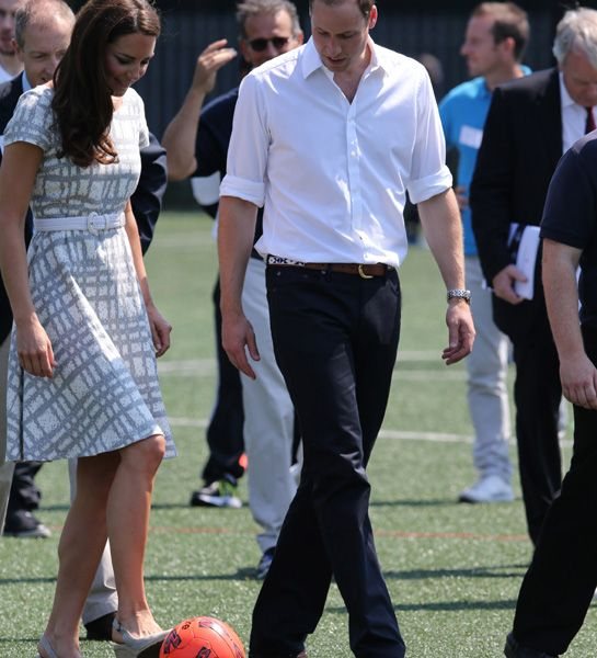 The Duke and Duchess of Camrbidge are to open an FA football park.