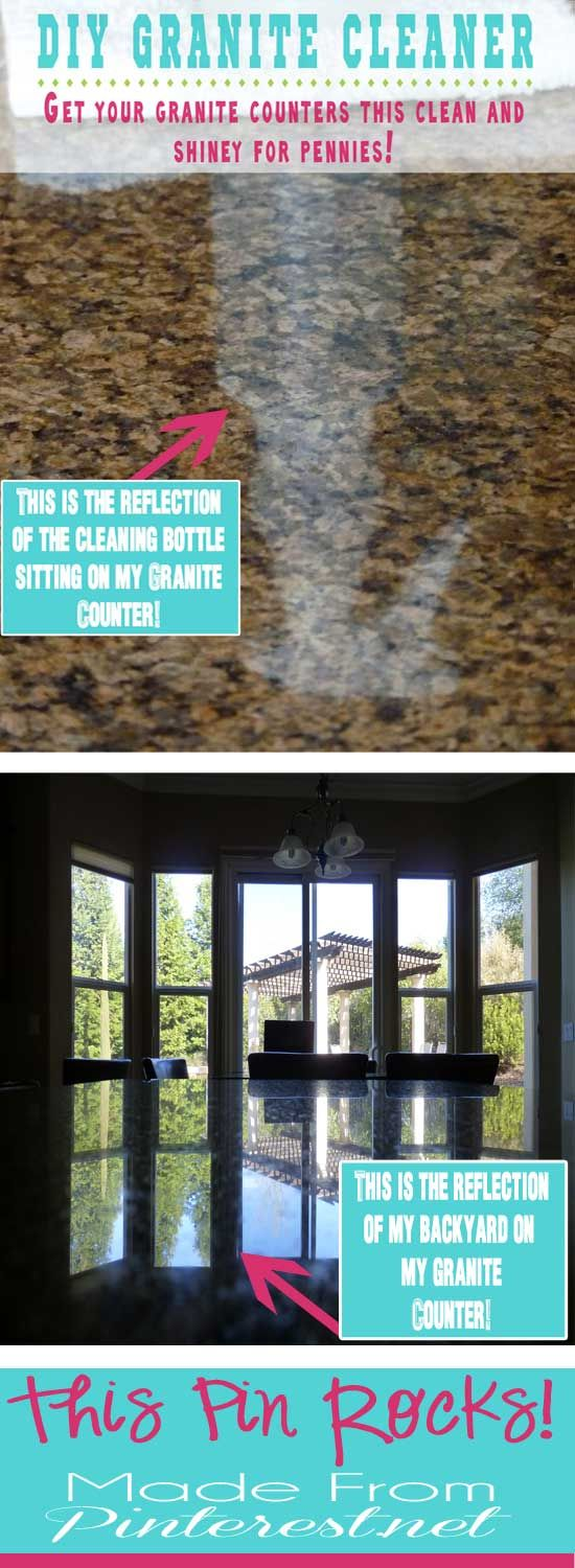 how to make granite shine again