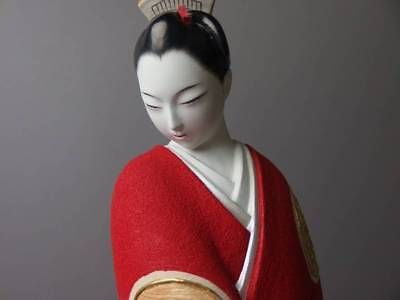 Japanese Antique Hakata doll Nishiro Tetsusaburo Love From Japan EMS F/S
