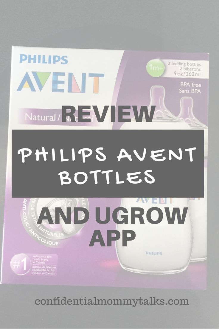 Philips Avent Bottles and uGrow Application | Confidential Mommy Talks | #AventMoms