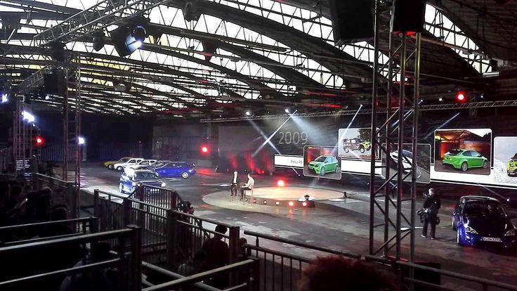 La storia della Ford Focus RS in mostra a Colonia