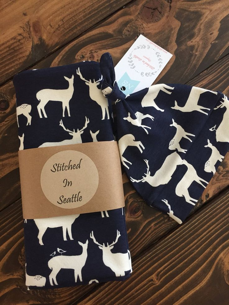 Sale Organic Baby Swaddle Blanket Set with by StitchedinSeattle
