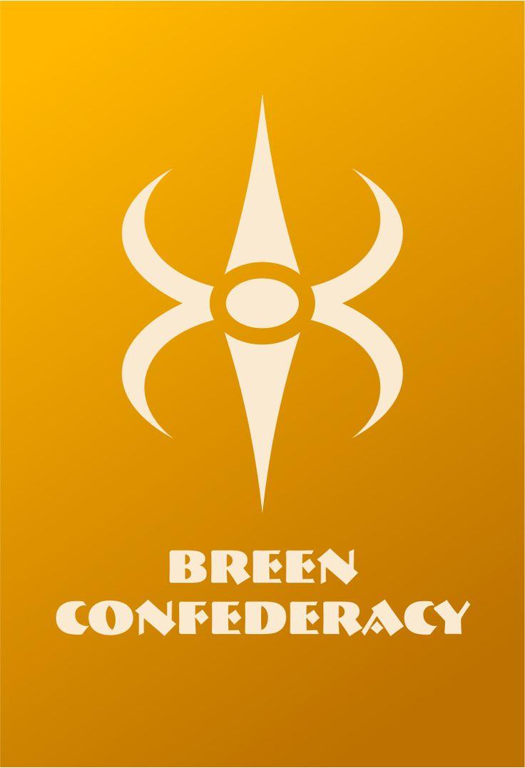 Star Trek Logo Breen Confederacy Flat Design