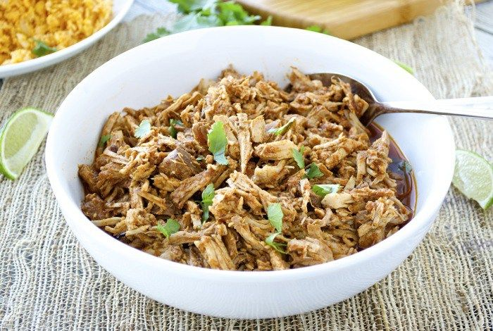 This easy slow cooker chipotle pulled pork takes little effort, but it's full of flavor and can be used in a multitude of ways! {Whole30}