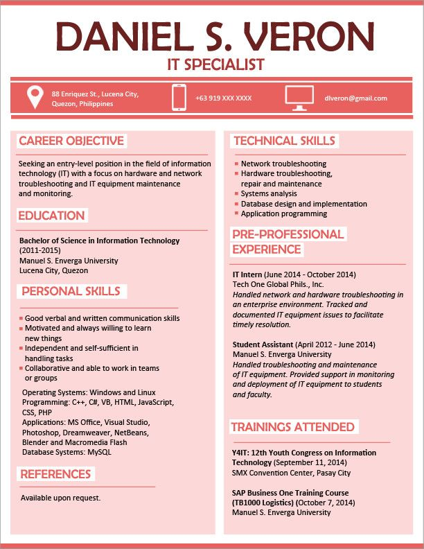Resume Sample For Fresh Graduate Superb Resume Templates You Can Download Of 40 Cool Resume Template Professional Sample Resume Templates Resume Template Word