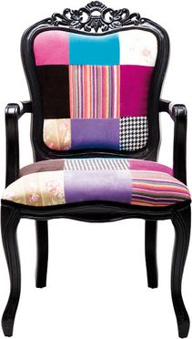 Stuhl mit Armlehne Elegant Patchwork