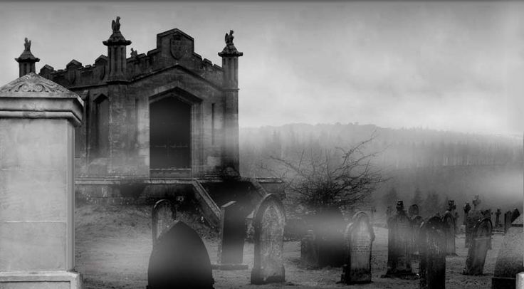 Halloween Haunted Graveyard Ideas | ... will want to make their own haunted house or in my case a haunted yard
